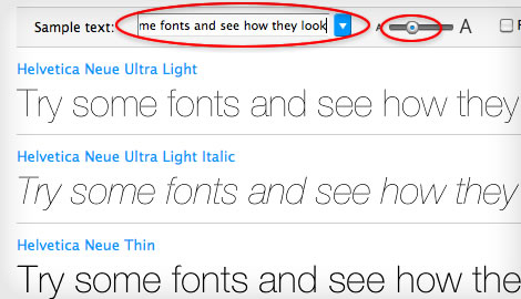 try fonts online step 7
