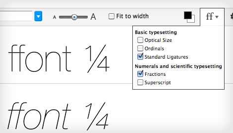 try fonts online step 9