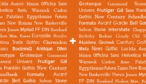 29 principles for making great font combinations