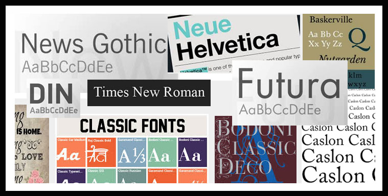 top best fonts