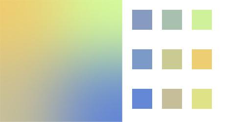 Gorgeous Random Color Scheme Gradient Generator for