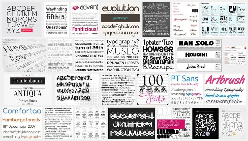 16 Most Popular Sites to Download Free Fonts   BonFX