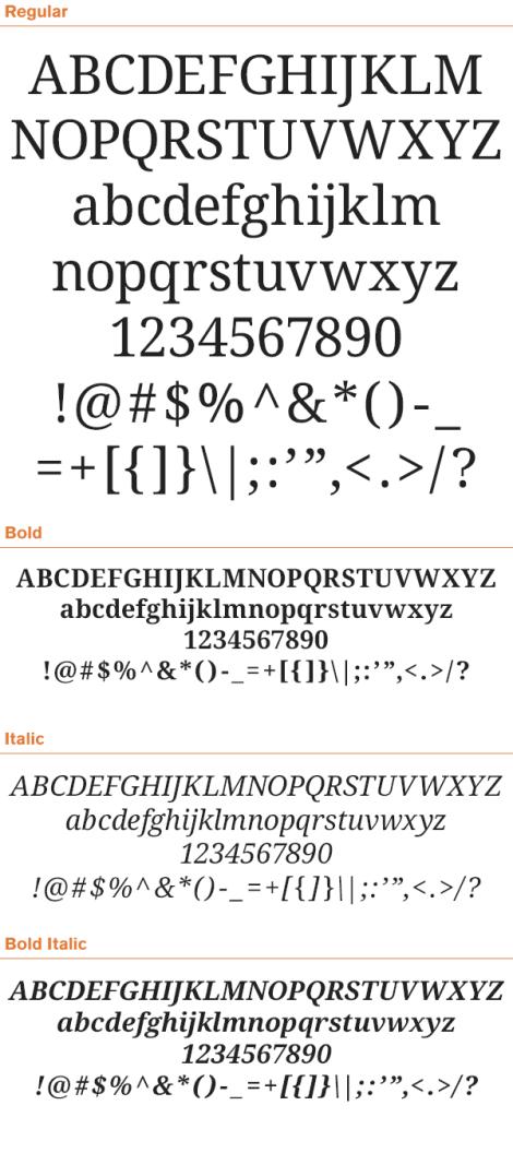free-serif-fonts-driod-serif
