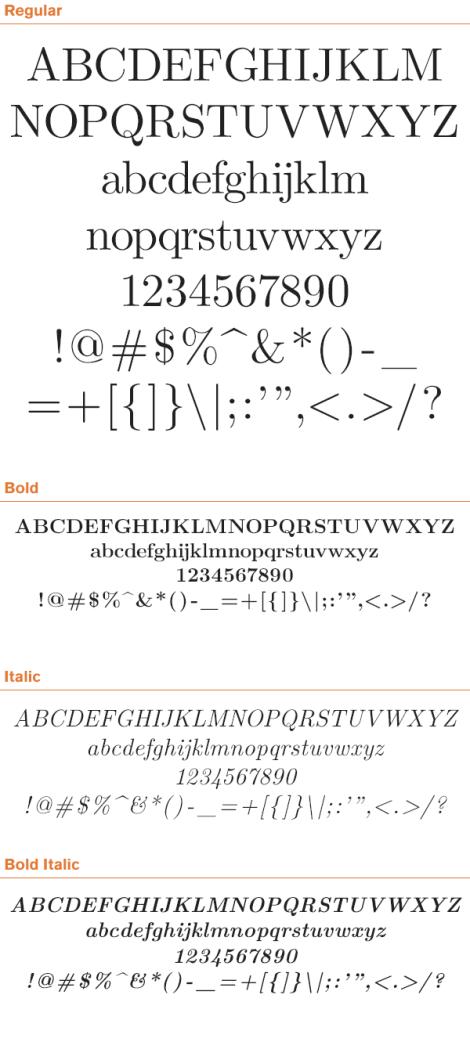 free-serif-fonts-latin-modern-roman