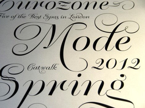 "Krul chosen among ""Best of 2012"" by Typographica"