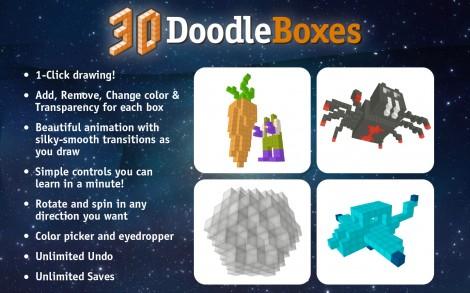 3D Doodle Boxes