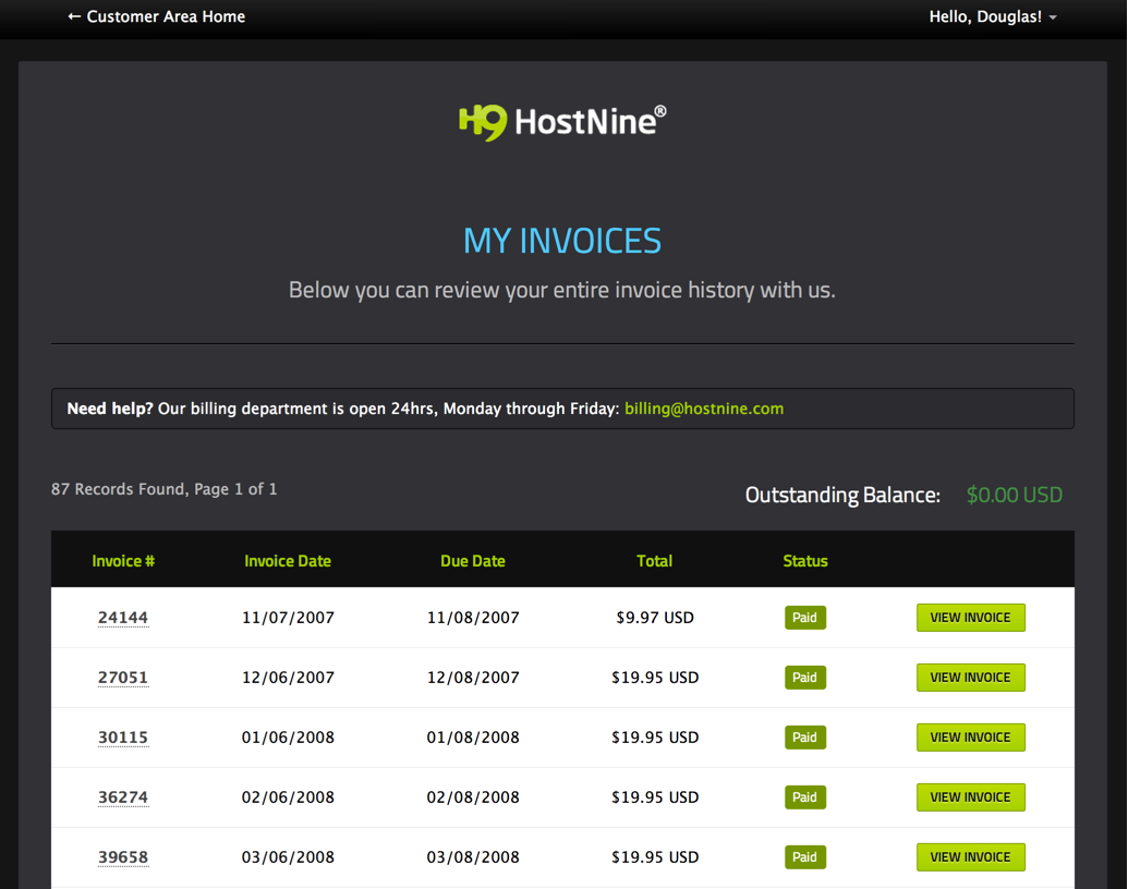 hostnine-reseller-review
