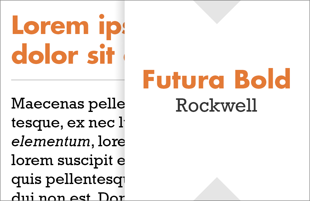 Futura and Rockwell