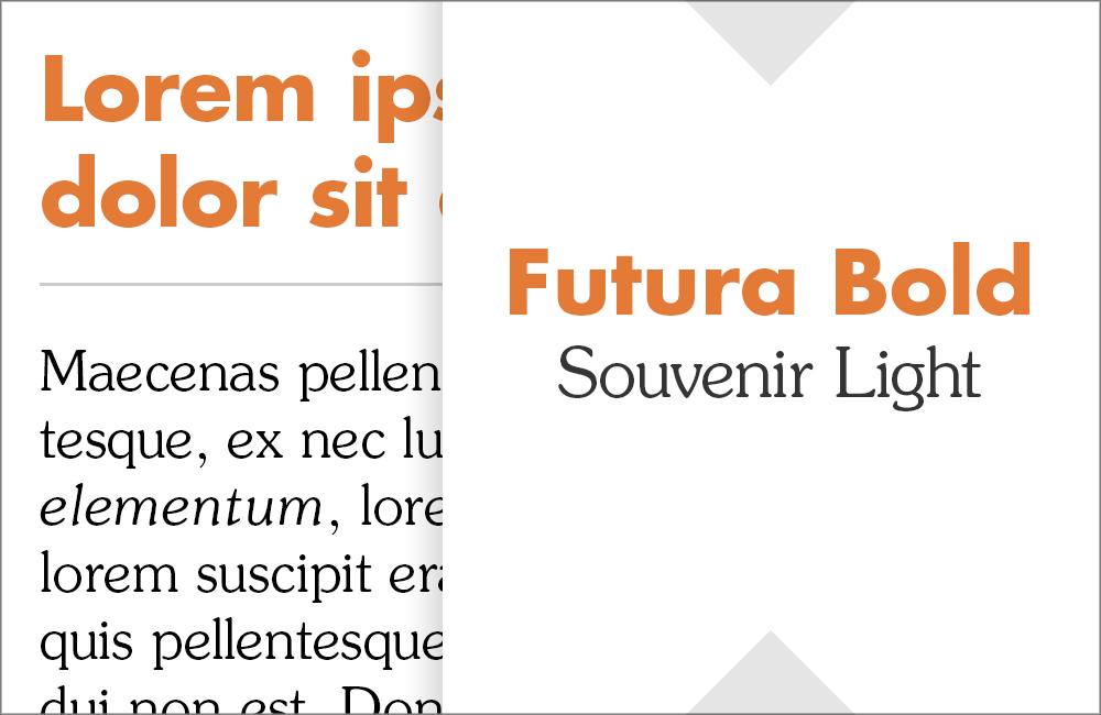 Futura and Souvenir