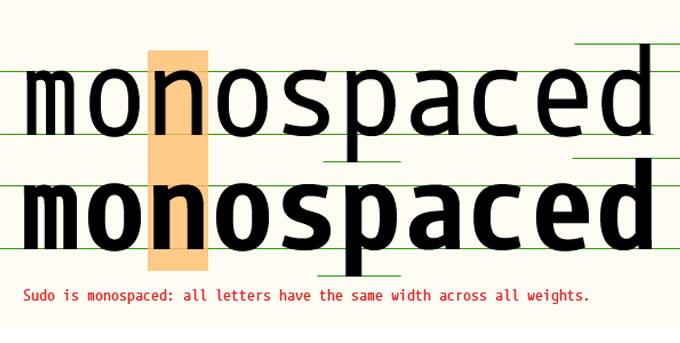monospaced