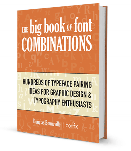 Font Combinations Book