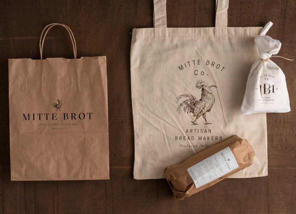 Branding for Artisan Bread Mitt Brot