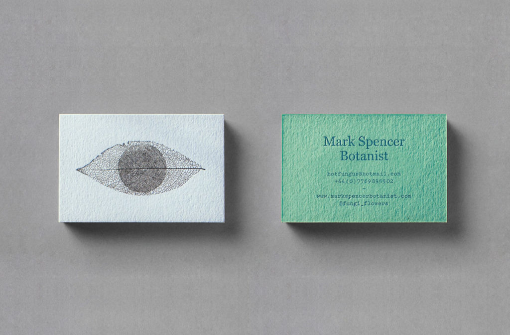 Botanist business card