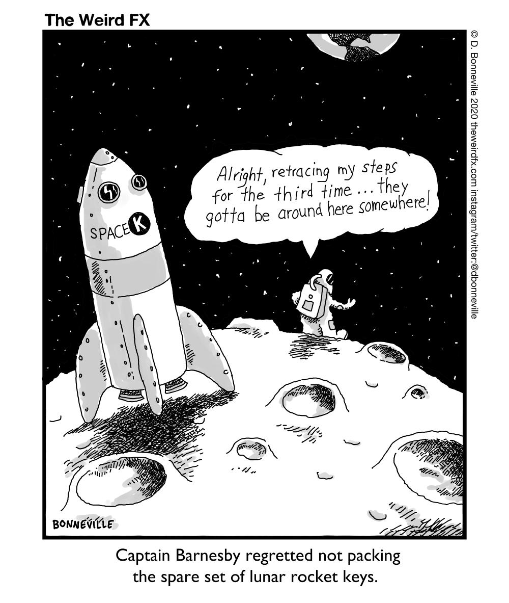 9978 lunar lander issues keys